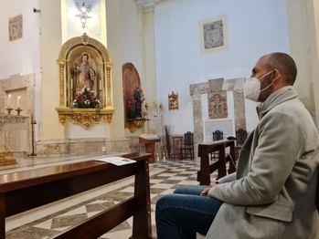 Íntima celebración de San Vicente en Quer