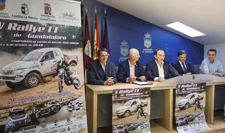 Este viernes 5 de octubre, arranca el V Rallye TT de Guadalajara