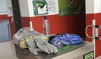 Reabre la sala fitness del polideportivo municipal de Alovera con medidas especiales