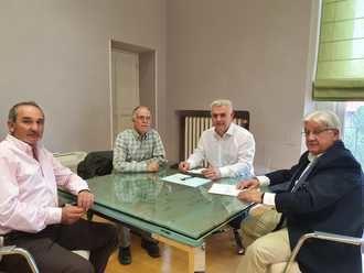 El presidente de la Diputación de Guadalajara transmite su apoyo a los Grupos de Desarrollo Rural de la región