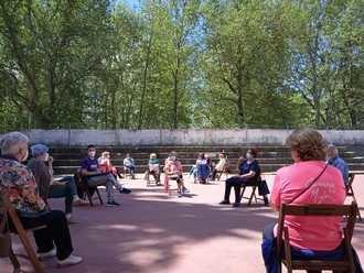 ACCEM retoma sus actividades presenciales con mayores con un reencuentro SALUDABLE