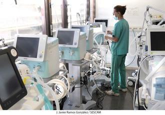Llegan diez nuevos respiradores al Hospital de Guadalajara