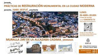 Jornada sobre restauración monumental impartida por la prestigiosa arquitecta Isabel Bestué