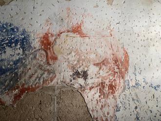 Consolidada y restaurada la parte de pintura mural del presbiterio de la Iglesia de Santiago de Sigüenza que aún se conserva