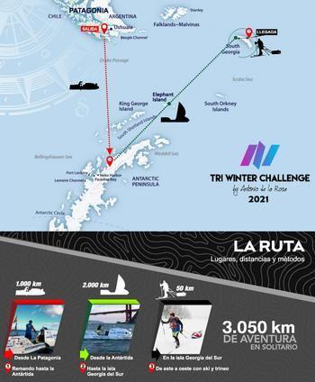 El aventurero y deportista extremo Antonio de la Rosa presenta su próxima hazaña, 'Expedición Antártida', este jueves en Trillo