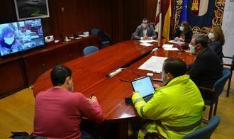 El Centro de Análisis y Seguimiento Provincial (CASP) coordina en Guadalajara los medios y actuaciones previstas en torno a la borrasca Filomena