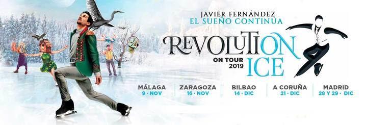 Javier Fernández y el 'Revolution On Ice' regresan a Madrid