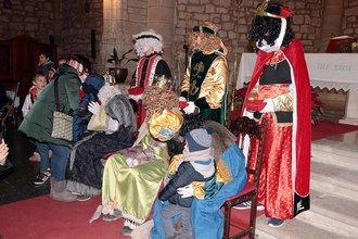 Melchor, Gaspar y Baltasar despiden la Navidad parejana