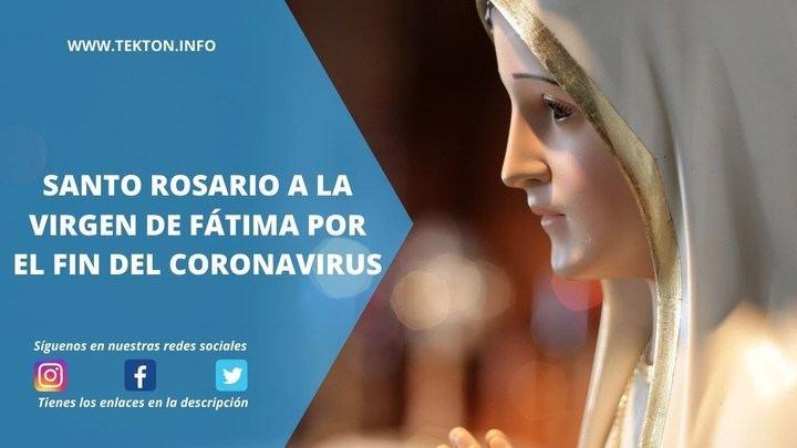 El rezo del Rosario en Fátima, el programa más visto de la historia en TRECE TV (1.581.000 personas)