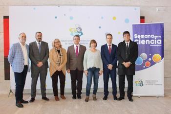 Ricardo Cuevas participa en una de las actividades que se han desarrollado en el Parque Científico y Tecnológico de Guadalajara