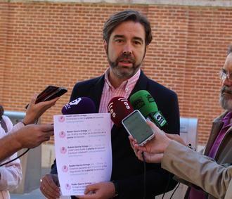 Robisco critica la incompetencia del equipo de Gobierno de la Diputación de Guadalajara en materia de residuos