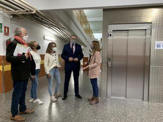 El Gobierno regional ha invertido más de 411.000 euros en mejoras del Colegio de Educación Especial Virgen del Amparo de Guadalajara