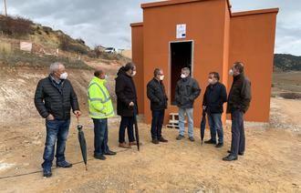 El Gobierno regional invierte cerca de 65.000 euros en el nuevo depósito de agua potable del municipio de Megina