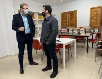 El Gobierno regional colabora en la mejora de la Biblioteca de Pastrana y en la equipación de nuevos espacios para usos lúdicos y culturales