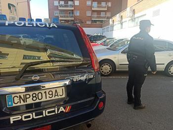 """La Policía Nacional detiene """"in fraganti"""" a los cuatro autores de un robo con fuerza en una iglesia evangelista de Guadalajara"""