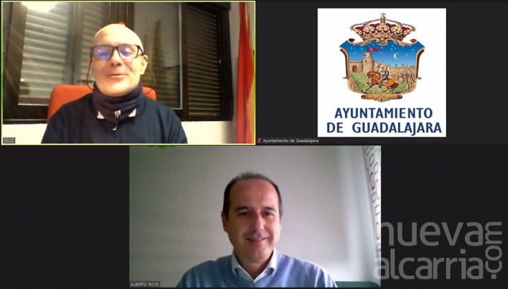 El alcalde de Guadalajara se reúne con el nuevo Secretario General del sindicato UGT tras su reciente nombramiento