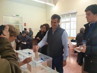 """Antonio Román apela en Guadalajara al """"desbloqueo institucional"""" en el Gobierno de España confiando en el cambio para conseguir estabilidad"""