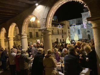 La Gran Ronda seguntina llegó anoche al corazón de la ciudad del Doncel