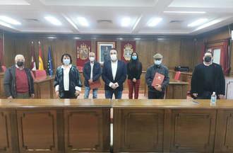 Renovada la colaboración entre el Ayuntamiento, la Banda, la Coral y la Ronda de Azuqueca