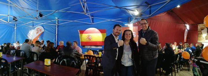 """Rosado pide la confianza de los guadalajareños porque Cs es el único partido """"sin mochilas, sin corruptos y con capacidad para hacer un gobierno fuerte"""""""