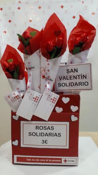 Cruz Roja y su San Valentín Solidario