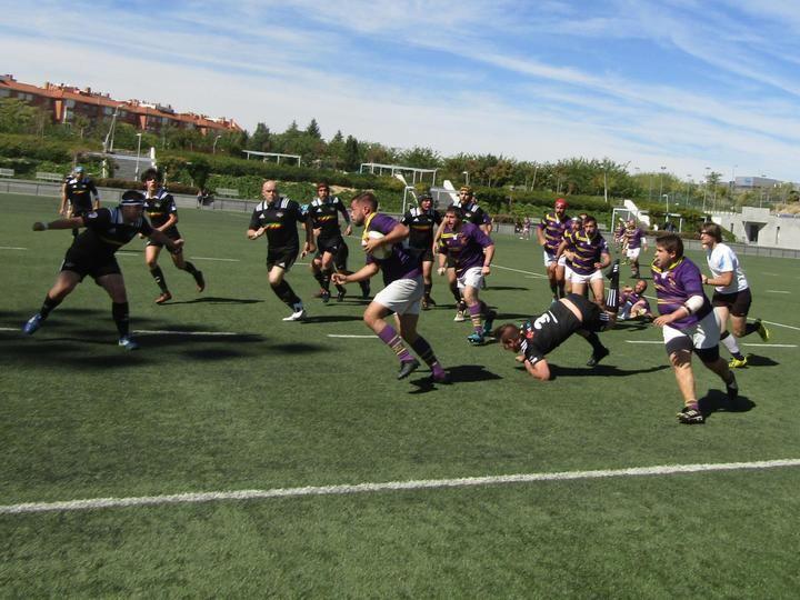 Rotunda victoria de Rugby Guadalajara en su visita a Hortaleza Rojo