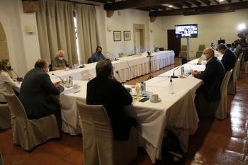El proyecto Rural Proofing y la Junta de Castilla-La Mancha intercambian experiencias en Sigüenza para combatir la despoblación