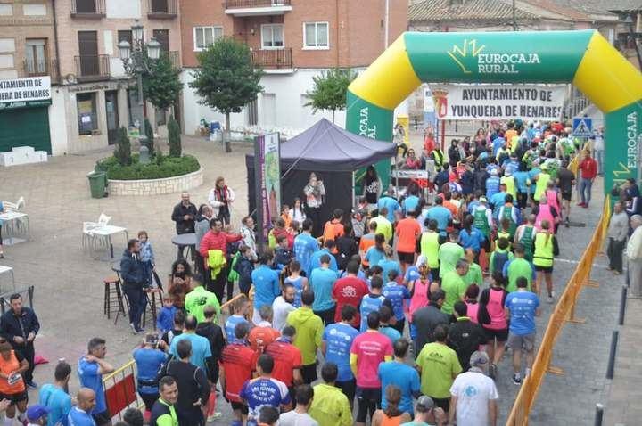 Más de 170 participantes en la X Carrera Popular 'Ruta de las Ermitas' de Yunquera de Henares