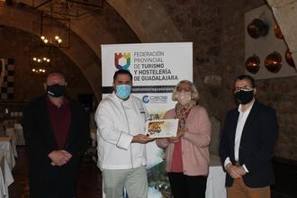 El Zubar de Yebes-Valdeluz, el Parador de Sigüenza y el restaurante Rincón de Budia, han sido los ganadores de la 21º edición de la Ruta de la Tapa de la Hostelería de Guadalajara