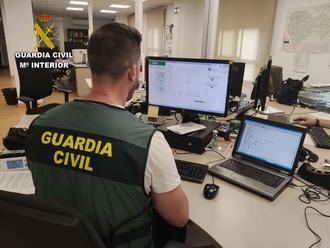 La Guardia Civil investiga a una persona por simulación de un robo para cobrar un seguro de 450.000 euros en Sacedón