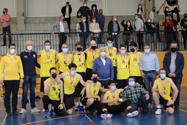 El C.D. Salesianos Guadalajara Electium, campeón de la Liga de Castilla-La Mancha de Baloncesto