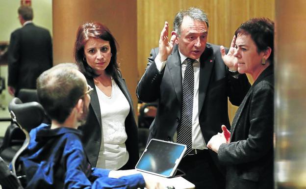 "EH Bildu: ""Nosotros vamos a Madrid a tumbar definitivamente el régimen"""