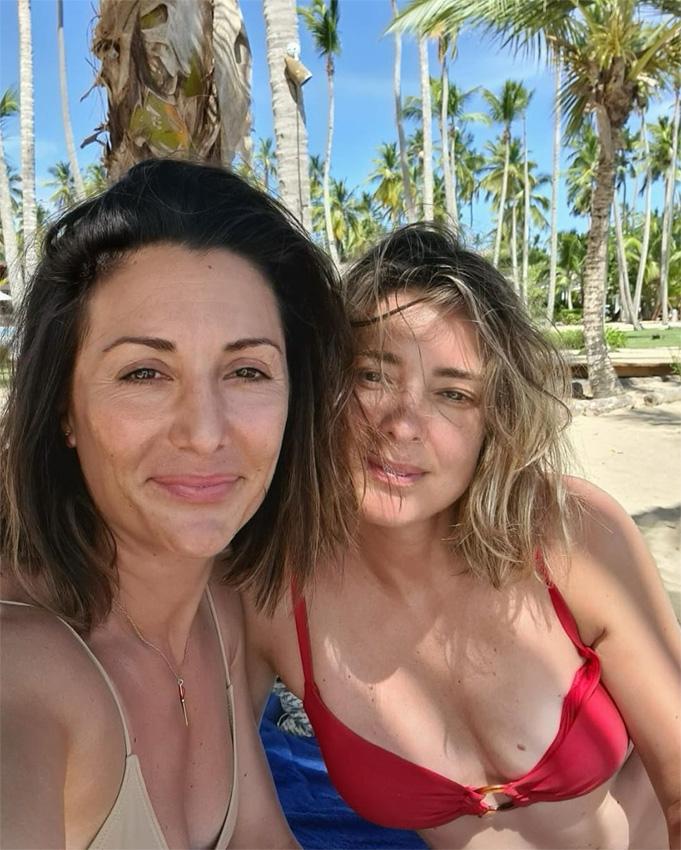 ¡HOLA! Sandra Barneda termina de grabar 'La isla de las tentaciones' y se despide del paraíso