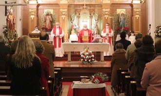 Cabanillas celebró un San Blas más recogido y televisado