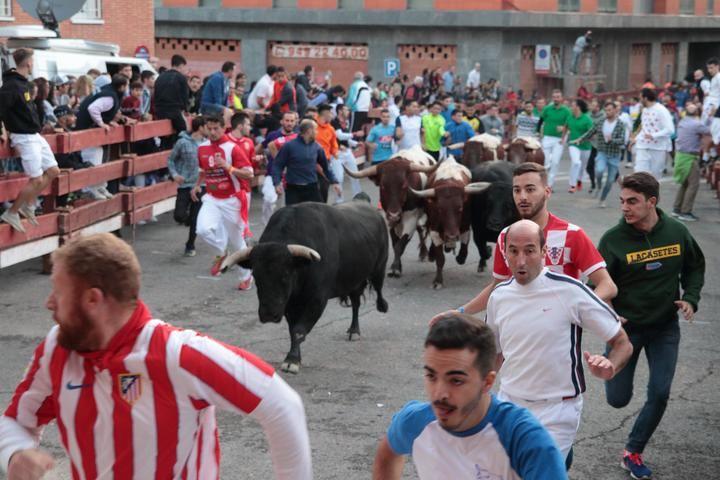 Segundo encierro de Ferias del 2019 en Guadalajara. Foto : EDUARDO BONILLA