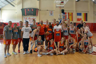 Las selecciones españolas femeninas de baloncesto U20 y U19 se concentrarán en Azuqueca