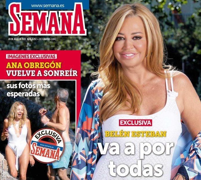 SEMANA Anabel Pantoja y Nagore Robles ejercen de 'influencers' en unas vacaciones en Ibiza