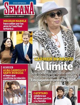 SEMANA En EXCLUSIVA, Alba Carrillo y Santi Burgoa: el beso que confirma la relación