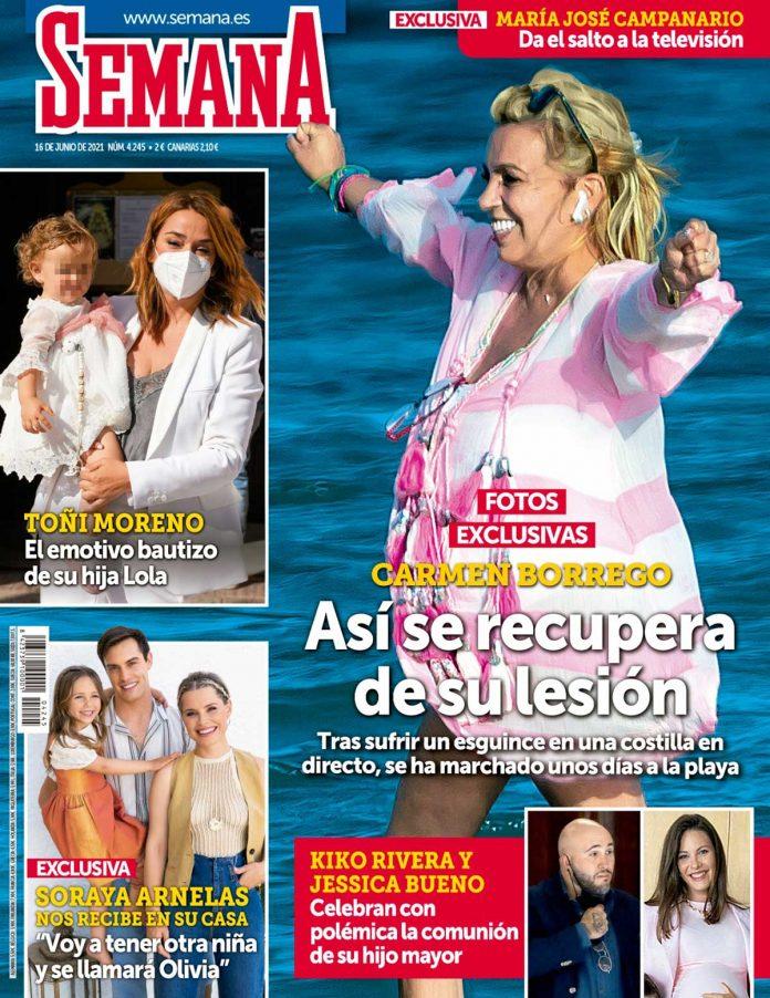 SEMANA Mila Ximénez, ingresada de nuevo en el hospital en su lucha contra el cáncer de pulmón