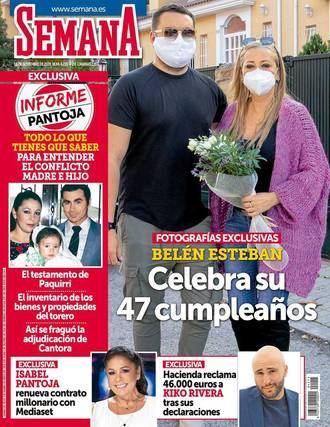 SEMANA Isabel Pantoja se defiende de los ataques de su hijo, Kiko Rivera, y anuncia acciones legales