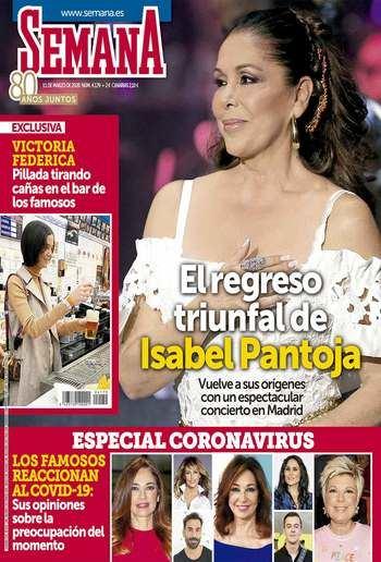 SEMANA El regreso triunfal de Isabel Pantoja