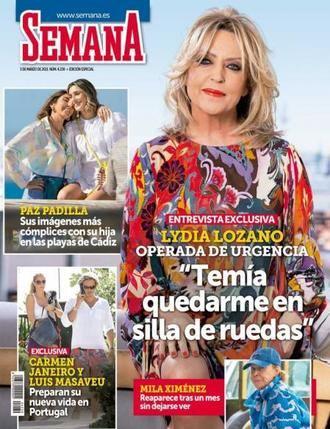 SEMANA La madre de Jorge Javier Vázquez, preocupada por su hijo