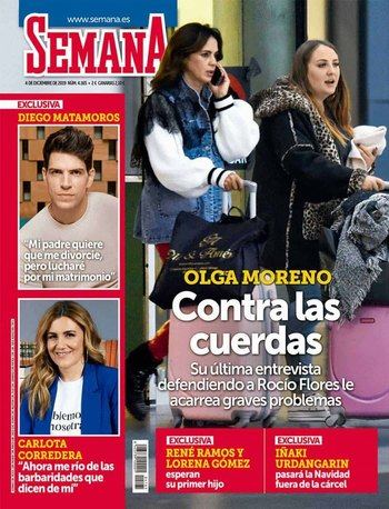 SEMANA Gloria Camila demanda a su ex, Kiko Jiménez