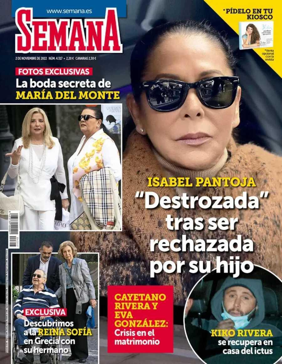 """SEMANA Isabel Pantoja demoledora : """"Mi hijo lo hace por dinero"""""""