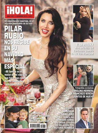 ¡HOLA! Pilar Rubio se prepara para su Navidad más especial