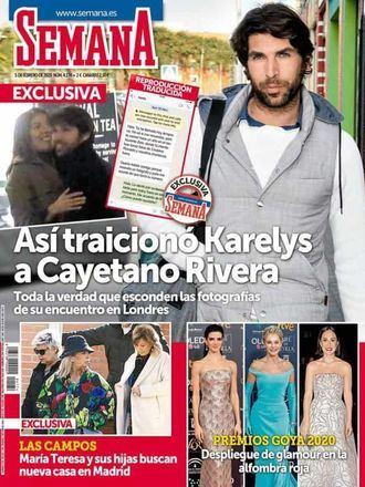 SEMANA En EXCLUSIVA, así traicionó Karelys a Cayetano Rivera