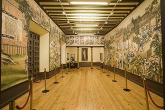 La China feudal, representada en el Salón Chino del Palacio de la Cotilla, detalle monumental este mes de las visitas turísticas a la ciudad de Guadalajara