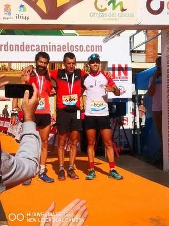 """El atleta alcarreño Sergio Tejero, segundo en el maratón de montaña """"cien millas por donde camina el oso"""""""