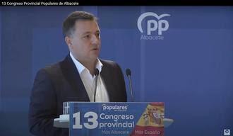 Manuel Serrano, nuevo presidente del PP de Albacete con el 98% de los votos