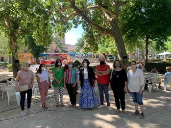 Sigüenza, parada hoy del Autobús de la Repoblación de la feria Presura21